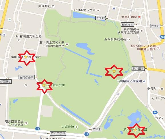 金沢マップ