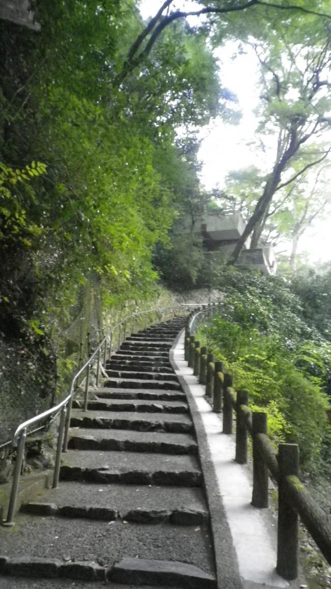 勝尾寺階段