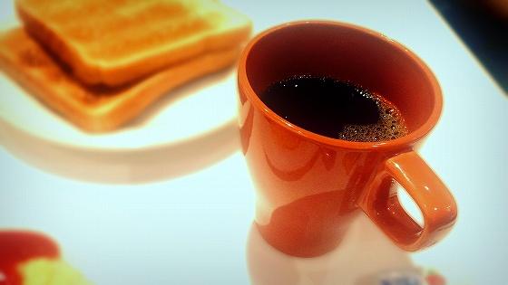 サクラホテルのパンとコーヒー