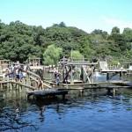 フィールドアスレチックのメッカ・清水公園から江戸川沿いの遊歩道を歩く 千葉県野田市
