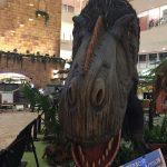 梅田で恐竜が大暴れ!~恐竜ランドでお勉強しましょう