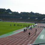 神戸最大級!数々の国際大会が行われたユニバー記念競技場