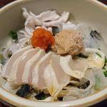 愛媛名物「河豚ざく」に太刀魚の刺身!地元で採れた新鮮魚介と日本酒を楽しむ「旬花酒灯てんふじ」