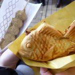 【名古屋】外国人観光客も行列に並ぶ天然鯛焼き、大須の鯛福茶庵