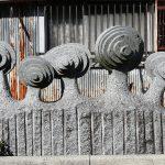 リレー徘徊54:池田市彫刻の道を行く3〜桜木通り・観賞編