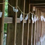 岡山・吉備津神社で見事な国宝、回廊、紫陽花